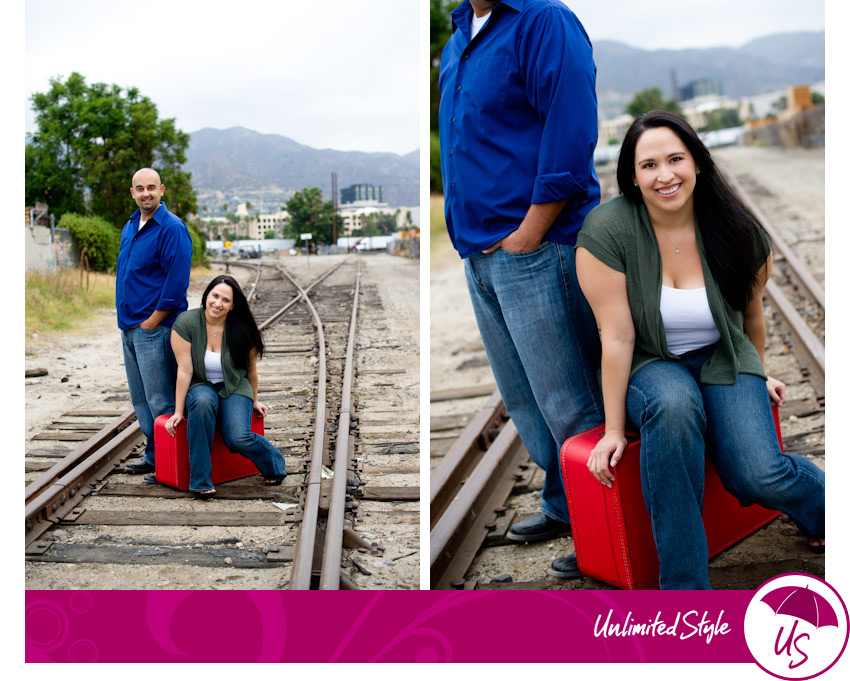 engagement photography, los angeles, burbank, couple photos, creative posing